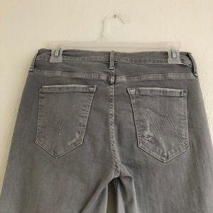 MOTHER Jeans - Anthropologie Mother Jeans Maverick Gray Denim 27